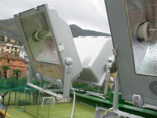 Illuminazione sportiva e pubblica